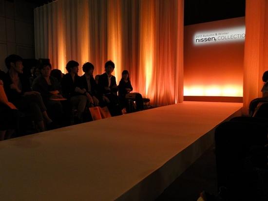 2012ニッセン フリードエアー スウエット&ウール ファッションショー